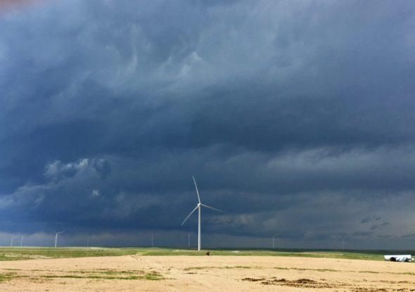 Kimball, Nebraska wind farm that supplies Aspen